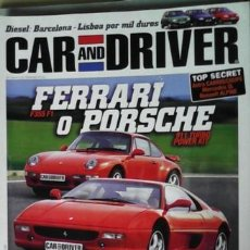 Coches: CAR AND DRIVER Nº 34, JULIO 1998. Lote 45564862