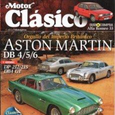 Coches: MOTOR CLASICO N. 278 MARZO 2011 - EN PORTADA: ASTON MARTIN DB 4/5/6 (NUEVA). Lote 166813784