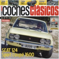Coches: COCHES CLASICOS N. 111 - EN PORTADA: SEAT 124 SPORT COUPE 1600 (NUEVA). Lote 113321655