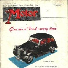 Coches: REVISTA DE COCHES INGLESA THE MOTOR - N 2366. 1947 (INGLÉS). Lote 45688518
