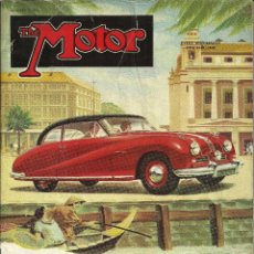 Coches: REVISTA DE COCHES INGLESA THE MOTOR - N 2603. 1952 (INGLÉS). Lote 45688793