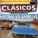 Coches: CLASICOS EXCLUSIVOS N. 86 - EN PORTADA: MISTRAL VS. GHIBLI (NUEVA). Lote 164185949
