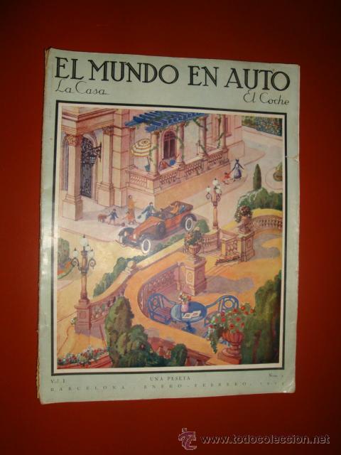 EL MUNDO DEL AUTOMOVIL (Coches y Motocicletas Antiguas y Clásicas - Revistas de Coches)