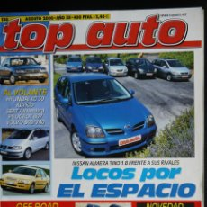 Coches: REVISTA TOP AUTO Nº 130- AGOSTO 2000. Lote 45726160