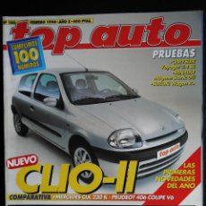 Coches: REVISTA TOP AUTO Nº 100- FEBRERO 1998. Lote 45727966