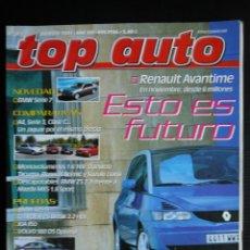 Coches: REVISTA TOP AUTO Nº 142- AGOSTO 2001- BMW 325 TI COMPACT- VOLVO S60 D5. Lote 45736009