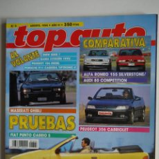 Coches: REVISTA TOP AUTO AGOSTO 1994. Lote 45748179