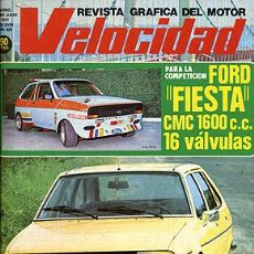 Coches: VELOCIDAD 829 RENAULT 20 TS. Lote 45987732