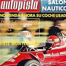 Coches: AUTOPISTA 935 VW GOLF GTI. Lote 45999009