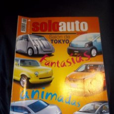 Coches: ANTIGUA REVISTA COCHES SOLO AUTO Nº50 DIC 2011 SALON DE TOKIO . Lote 46083476