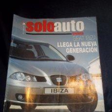 Coches: ANTIGUA REVISTA COCHES SOLO AUTO Nº51 ENERO 2002 SEAT IBIZA,BMW M3 CSL,PORSCHE 911 CARRERA 4S.... Lote 46083512