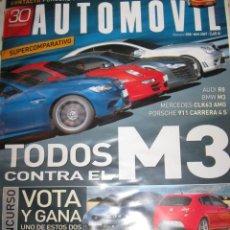 Coches: REVISTA AUTOMOVIL Nº 358 BMW M3 50 AÑOS DE SEAT 600 COCHES AUTOMOVILES RALLYE FORMULA 1 . Lote 46114709