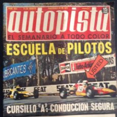 revista de coches autopista auto-pista nº 654 de 1971 600 panda años 70