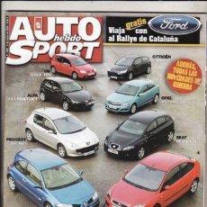 Coches: REVISTA AUTO HEBDO SPORT Nº 1068 AÑO 2006. COMP: ALFA 147 MULTIJET, CITROEN C4 HDI, FORD FOCUS TDCI,. Lote 85143026