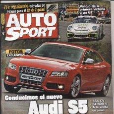 Coches: REVISTA AUTO HEBDO SPORT Nº 1128 AÑO 2007. COMP: SEAT LEON FR,FORD FOCUS ST,VOLVO C30 T5,VW GOLF GTI. Lote 47033480