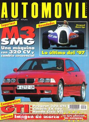 AUTOMOVIL Nº 231 (ABRIL 1997) (Coches y Motocicletas Antiguas y Clásicas - Revistas de Coches)