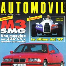 Coches: AUTOMOVIL Nº 231 (ABRIL 1997). Lote 47302403