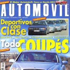 Coches: AUTOMOVIL Nº 262 (NOVIEMBRE 1999). Lote 47302457