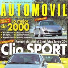 Coches: AUTOMOVIL Nº 267 (ABRIL 2000). Lote 47302473