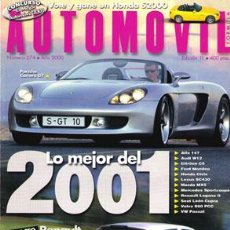 Coches: AUTOMOVIL Nº 274 (NOVIEMBRE 2000). Lote 47302487