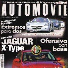 Coches: AUTOMOVIL Nº 281 (JUNIO 2001). Lote 47302494