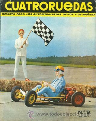 CUATRORUEDAS Nº 009 (SEPTIEMBRE 1964) (Coches y Motocicletas Antiguas y Clásicas - Revistas de Coches)