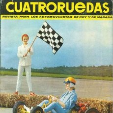Coches: CUATRORUEDAS Nº 009 (SEPTIEMBRE 1964). Lote 47306201