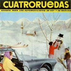 Coches: CUATRORUEDAS Nº 012 (DICIEMBRE 1964). Lote 47306202