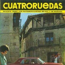Coches: CUATRORUEDAS Nº 032 (AGOSTO 1966). Lote 47306282