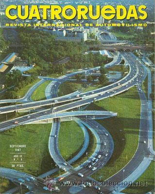 CUATRORUEDAS Nº 045 (SEPTIEMBRE 1967) (Coches y Motocicletas Antiguas y Clásicas - Revistas de Coches)