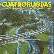 Coches: CUATRORUEDAS Nº 045 (SEPTIEMBRE 1967). Lote 47306315