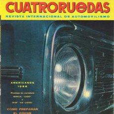 Coches: CUATRORUEDAS Nº 047 (NOVIEMBRE 1967). Lote 47306318
