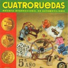 Coches: CUATRORUEDAS Nº 048 (DICIEMBRE 1967). Lote 47306319