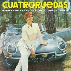 Coches: CUATRORUEDAS Nº 057 (SEPTIEMBRE 1968). Lote 47306358