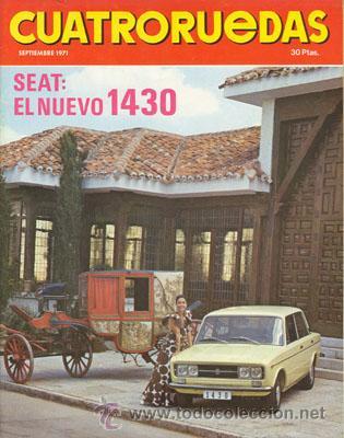 CUATRORUEDAS Nº 093 (SEPTIEMBRE 1971) (Coches y Motocicletas Antiguas y Clásicas - Revistas de Coches)