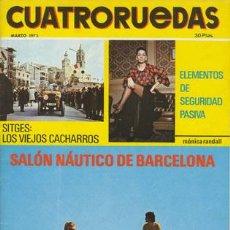 Coches: CUATRORUEDAS Nº 099 (MARZO 1972). Lote 47306474