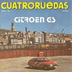 Coches: CUATRORUEDAS Nº 114 (JUNIO 1973). Lote 47306485