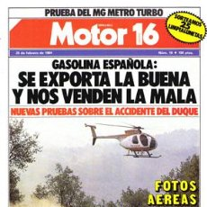 Coches: MOTOR 16 Nº 018 (25-02-84). Lote 47307049