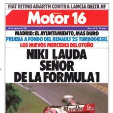 Coches: MOTOR 16 Nº 044 (25-08-84). Lote 47307145