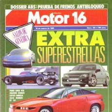 Carros: MOTOR 16 Nº 282 (18-03-89). Lote 47307851