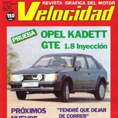 Coches: VELOCIDAD Nº 1142 (13-08-83). Lote 47311736