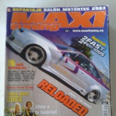 Coches: MAXI TUNING -- Nº 63 -- OPEL CALIBRA RELOADED -- . Lote 61756318