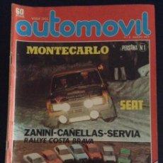 Coches: REVISTA VIDA DEL AUTOMOVIL FORMULA NUMERO Nº 5 MARZO DE 1977. Lote 47377546