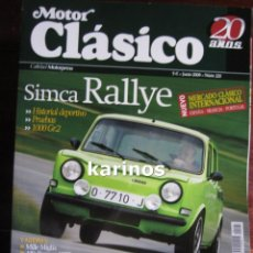 Coches: MOTOR CLASICO 221. Lote 47447332