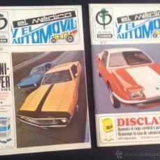 Coches: REVISTA DE 1971 Nº 11-13 EL MEDICO Y EL AUTOMOVIL . Lote 47865641