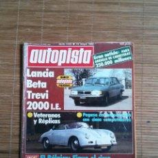 Coches: REVISTA AUTOPISTA Nº 1195 AÑO 1982. LANCIA BETA TREVI 2000 I.E., PEGASO. Lote 48126107