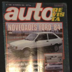 Coches: AUTO-REVISTA Nº NUMERO 1366 DE 1984 FORD. Lote 48198901