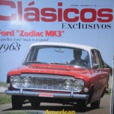 Coches: REVISTA CLASICOS EXCLUSIVOS NUMERO 19 JUNIO 2007. Lote 48727655