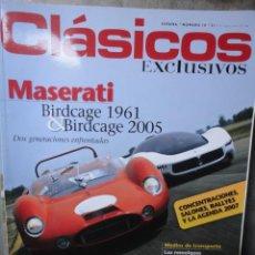 Coches: REVISTA CLASICOS EXCLUSIVOS NUMERO 18 ABRIL 2007. Lote 48727681