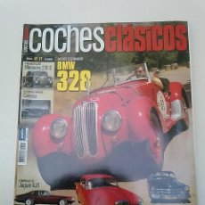 Coches: -COCHES CLÁSICOS Nº17-BMW 328- JAGUAR XJS, CADILLAC 61 VS.ALVIS TD 21,MERCEDES 230 S-DUCATI 24 HORAS. Lote 49106754